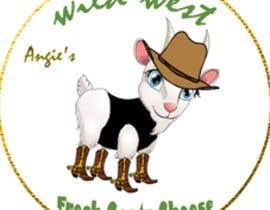 #23 สำหรับ Angies Wild West Goats Cheese. โดย webdesignerul