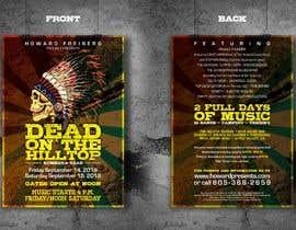 #40 for I need concert design for poster and postcard flyer af zedsheikh83