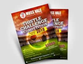 #33 untuk Digital and Printed Promotional Flyer - Thistle Challenge 2018 oleh aatir2