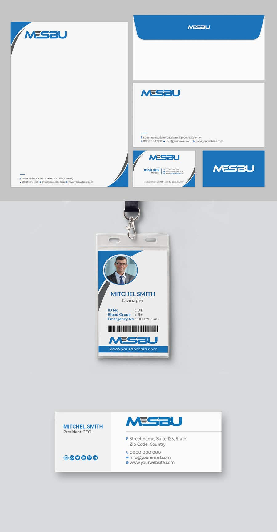 Entry #13 by mahmudkhan44 for Develop a Corporate Identity