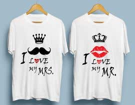 #50 for Trendy & Catchy Tshirt Screen Printing Design For Couple by mdshamim27