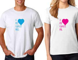 #38 for Trendy & Catchy Tshirt Screen Printing Design For Couple by designertarikul
