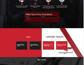 #19 для DESIGN ME A WEBSITE AND FACEBOOK PAGE FOR AIRPORT TRANSFER MINIBUS от webdesign4u2004