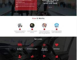 #44 для DESIGN ME A WEBSITE AND FACEBOOK PAGE FOR AIRPORT TRANSFER MINIBUS от webdesign4u2004