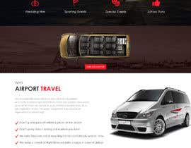 #31 for DESIGN ME A WEBSITE AND FACEBOOK PAGE FOR AIRPORT TRANSFER MINIBUS by saidesigner87