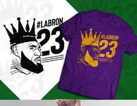 nº 39 pour Lakers Fan Shirt par Tonmoydedesigner