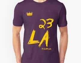 nº 32 pour Lakers Fan Shirt par karimelsayed155