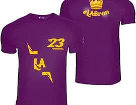 nº 56 pour Lakers Fan Shirt par karimelsayed155
