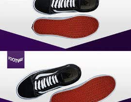 #26 untuk Design an clean, inspiring Facebook shoe ad Background image oleh gideonca7