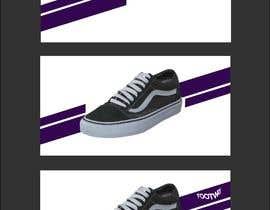 #120 untuk Design an clean, inspiring Facebook shoe ad Background image oleh skinnudity