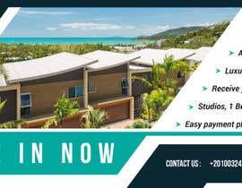 nº 118 pour Design beach residence teaser banner par davinder30