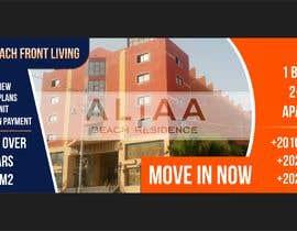 nº 126 pour Design beach residence teaser banner par Hobbygraphic