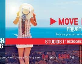 nº 128 pour Design beach residence teaser banner par maiishaanan