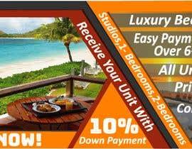 nº 119 pour Design beach residence teaser banner par mbhivy12new