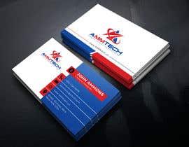 Nro 374 kilpailuun I need a business card designed käyttäjältä Masuk1996