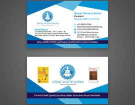 #22 para Design a Business Card for a Successful Author + Entrepreneur de bachchubecks