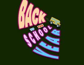 #21 for Tee Shirt Design Back to the school year by inas111