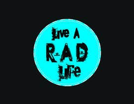 SaifulAlamin56 tarafından Please design an epic and iconic logo for my lifestyle/ wellness company 'Live a RAD Life' Please refer to the previous artwork as attached as the artwork must be in circle. için no 19