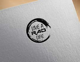 logodesign97 tarafından Please design an epic and iconic logo for my lifestyle/ wellness company 'Live a RAD Life' Please refer to the previous artwork as attached as the artwork must be in circle. için no 41