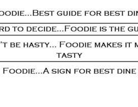 Write a tag line/slogan for Food and Restaurant guide | Freelancer