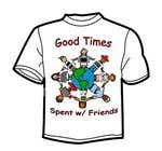 Graphic Design Конкурсная работа №15 для Gaming theme t-shirt design wanted – Good Times Spent with Friends