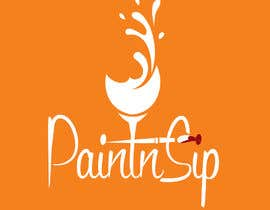 #122 for PAINTnSIP | DESIGN A LOGO by KarolinaSaad