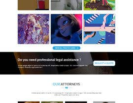 nawab236089님에 의한 Website one page Mockup을(를) 위한 #16