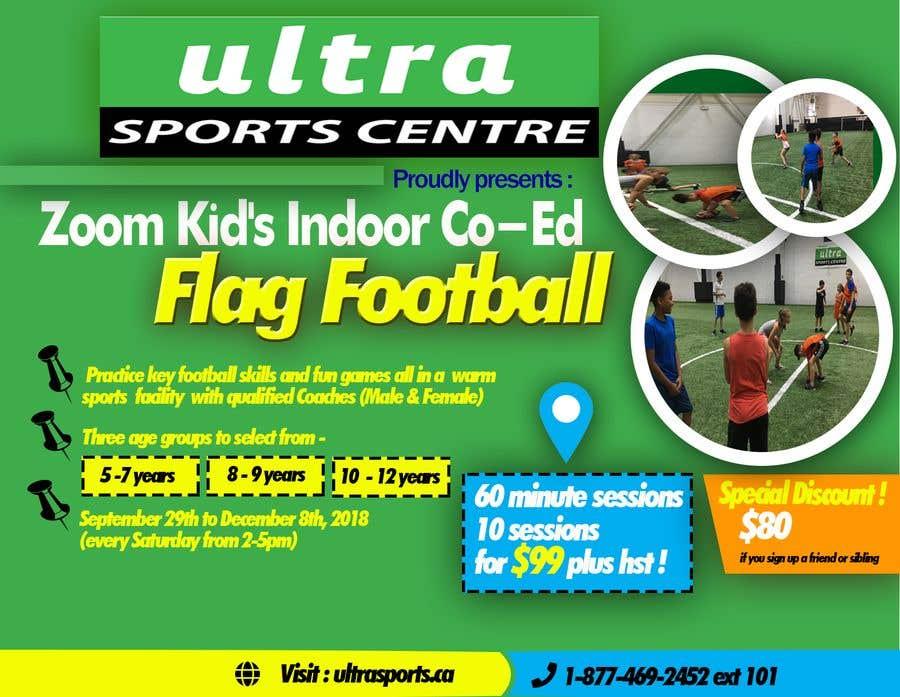 Конкурсная заявка №11 для Flag Football - Youth