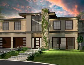 #55 for Architectural Design and 3D Visualization of New house by diaparadi