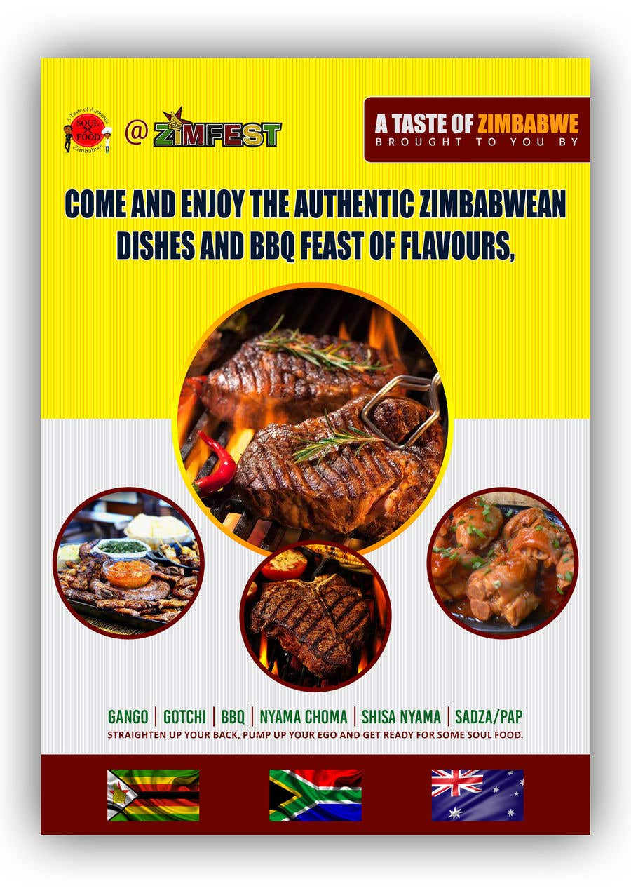entry 72 by sourabh1604ph2 for catering flyer freelancer