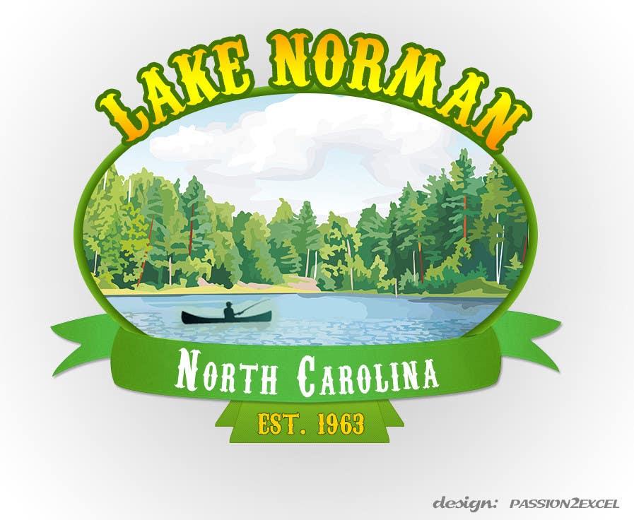 Bài tham dự cuộc thi #198 cho Graphic Design - Create a Cool Lake Logo