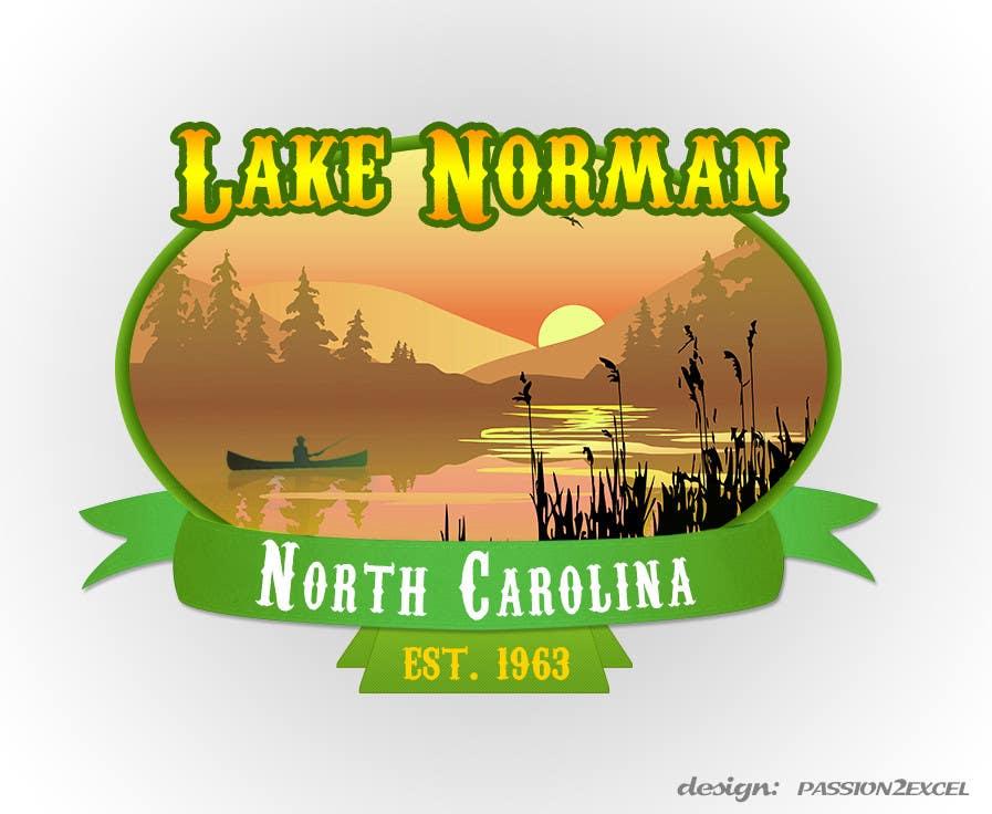 Bài tham dự cuộc thi #157 cho Graphic Design - Create a Cool Lake Logo