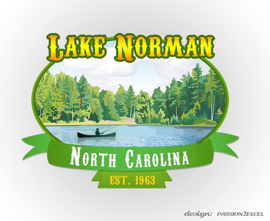 Bài tham dự cuộc thi #156 cho Graphic Design - Create a Cool Lake Logo