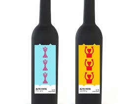 #58 for Wine Label Serie by madalinam17