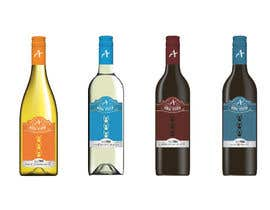 #72 for Wine Label Serie by ShadabDanishh