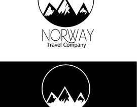 Hamzaarbiyani tarafından Logo Design - Mountain + Sun/Circle. For Travel Norway için no 90