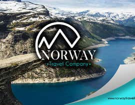 Jokey05 tarafından Logo Design - Mountain + Sun/Circle. For Travel Norway için no 95