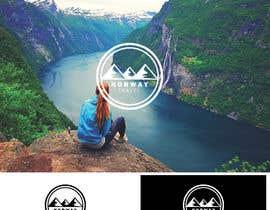 ArizkiD tarafından Logo Design - Mountain + Sun/Circle. For Travel Norway için no 32