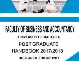 #4 for Designing Degree Program Handbook for a Graduate School by Andikajos45