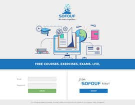 #32 for SOFOUF Landing page by CoolDesignr