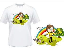 #25 para Illustration for t-shirt por martarbalina