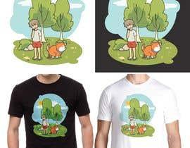 #34 para Illustration for t-shirt por BadWombat96