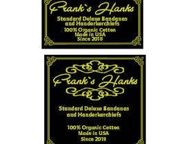 nº 29 pour Logo Design for new Brand -Frank's Hanks par mmujica