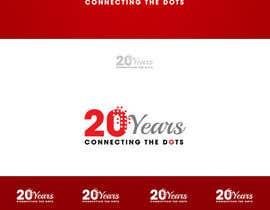 #45 untuk Design a Logo for 20'th anniversary of EPIC oleh lumerbgraphics