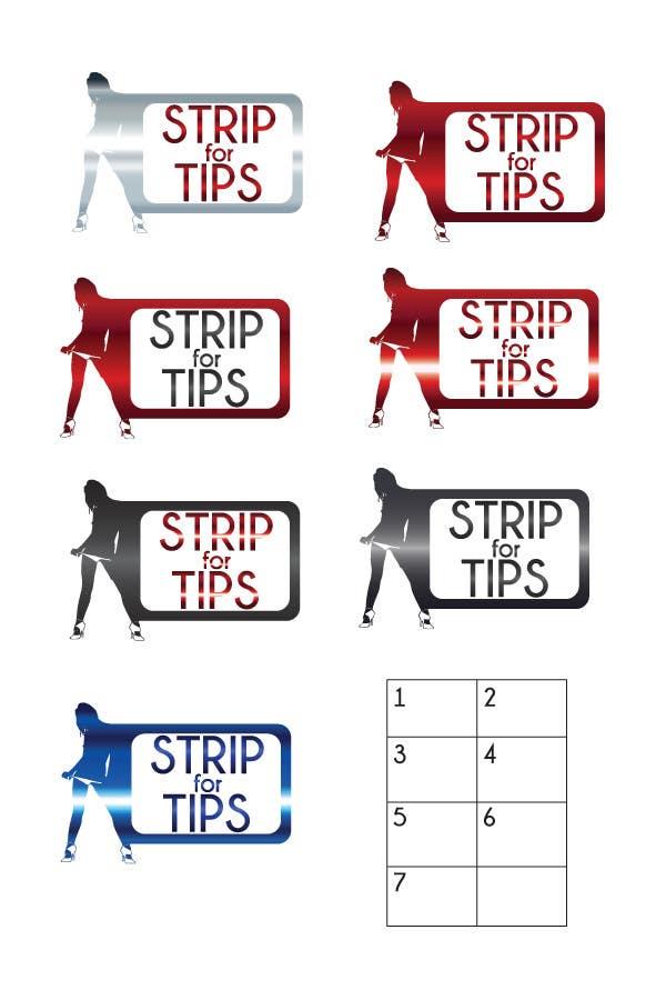 Contest Entry #101 for Logo Design for stripfortips.com