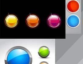 Nro 4 kilpailuun Circular icon buttons for software application käyttäjältä ezo2016
