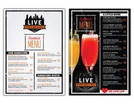 nº 9 pour URGENT: Re-design bar menus par frontrrr