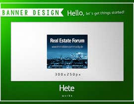 #6 for Design minimalistic banners for a real estate network by hete