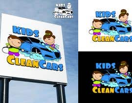 #86 for Create logo for Kids Clean Cars af Attebasile