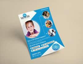 Nro 18 kilpailuun Design a Flyer for a Speech Therapy Company käyttäjältä nirbhaytripathi8